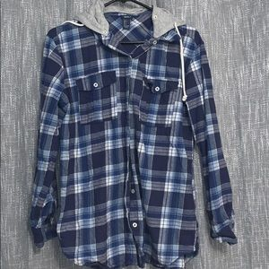 Forever 21 Blue Flannel